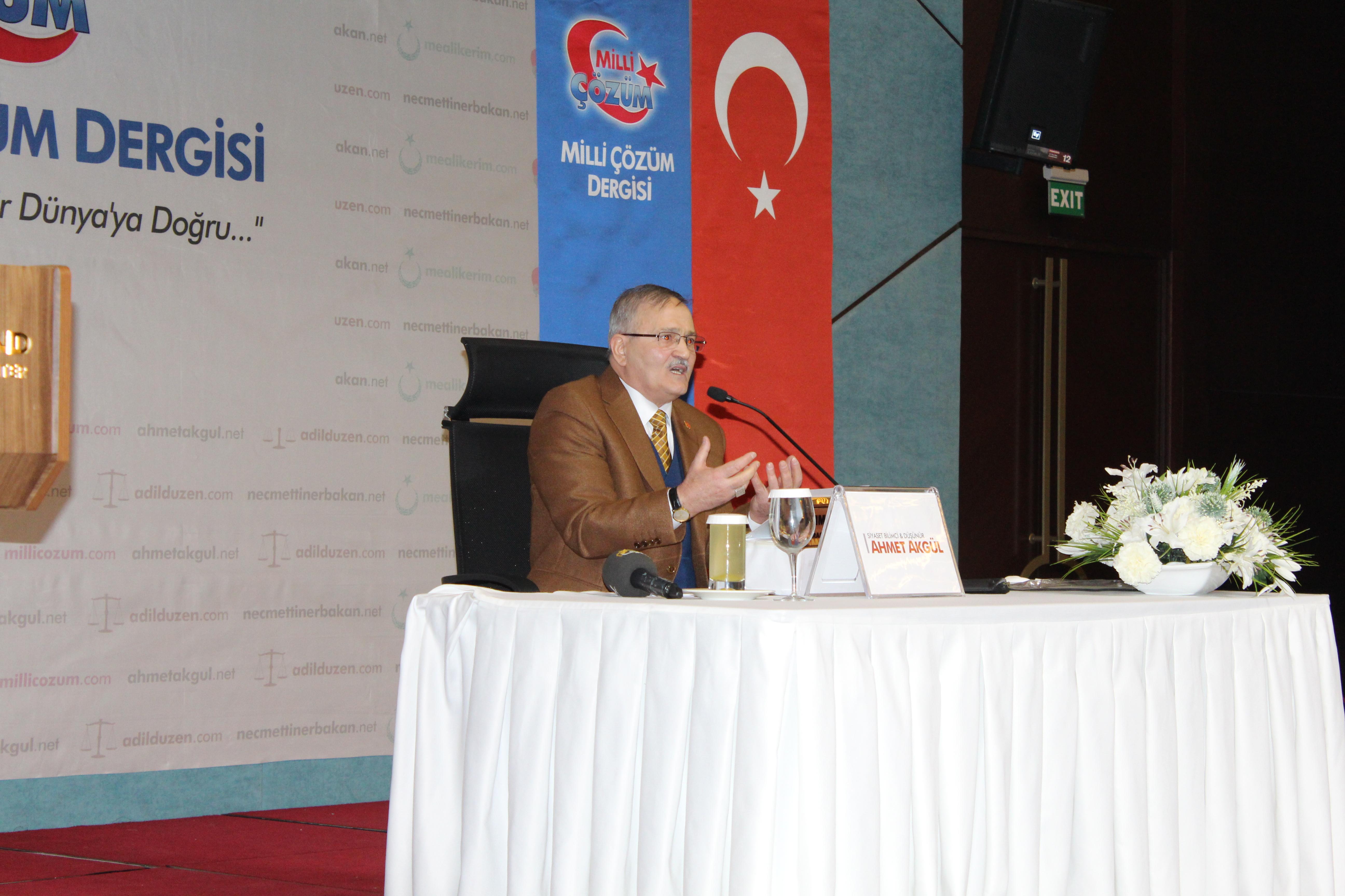 Üstad Ahmet Akgül - Yeni Medeniyet İnkılabı ve Adil Düzen Kavramı - Konferansı OCAK 2019