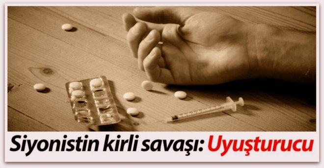 Siyonizm'in (İsrail'in) Uyuşturucu Trafiği  ve  PKK-PYD'NİN BEYAZ ZEHİR TİCARETİ