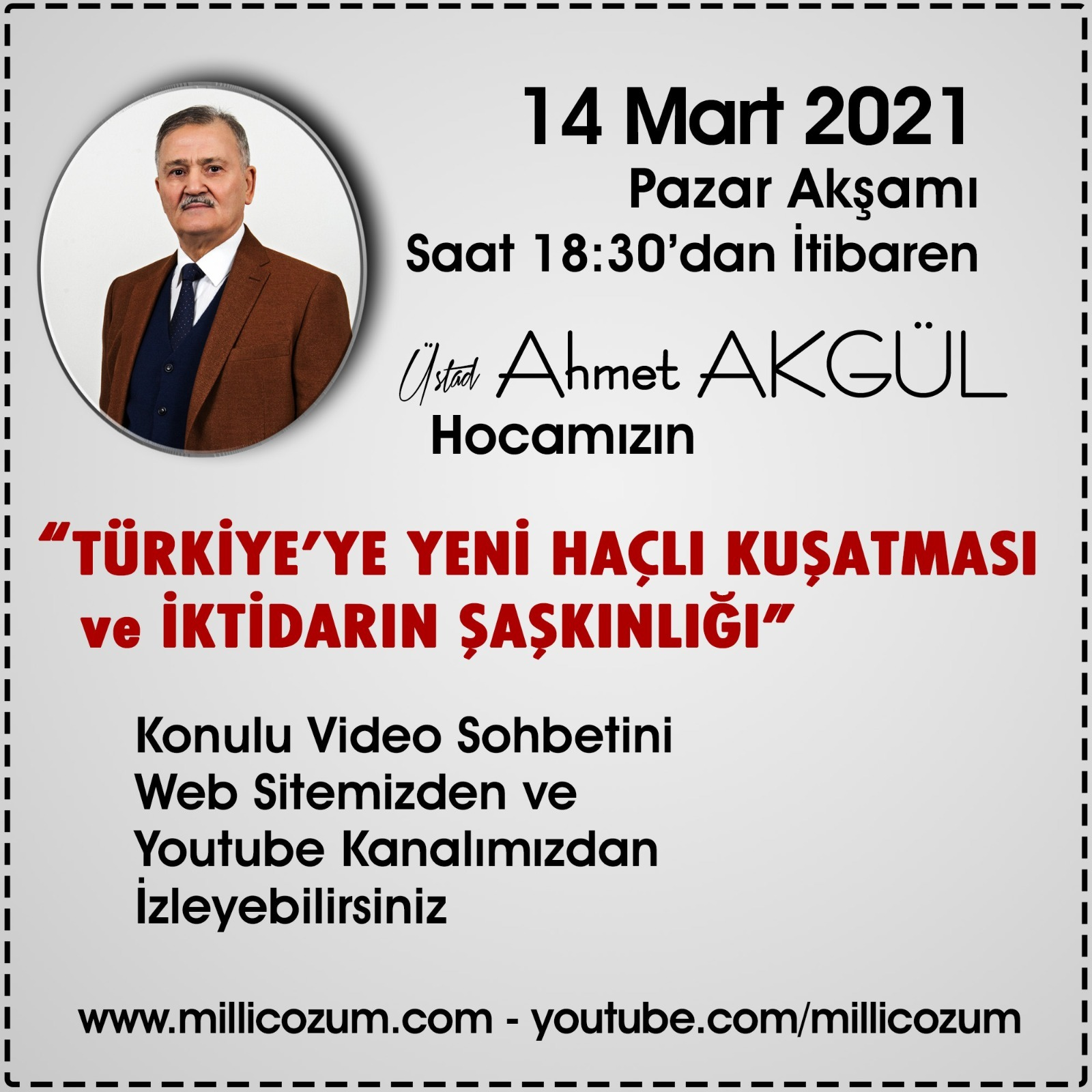 VİDEO KONFERANS'A DAVET!